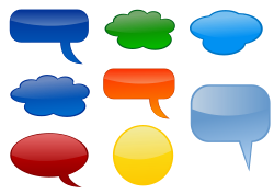 http://openclipart.org/detail/75667/speech-bubbles-by-shokunin
