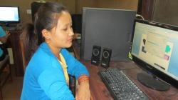 Binita Saru is a former library ICT trainee in Nepal