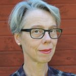 Photo of Harriet Aagaard, information coordinator of the Subject Analysis and Access section