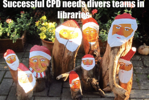 successful cpd needs diverse teams in libraries
