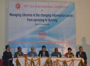 Inaugural Session in progress - ILA 2014