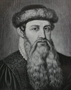 Gutenberg. Wikimedia Commons.