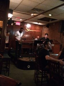 Jazz session at Showman's, Harlem, New York