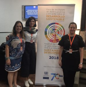 IFLA delegation at the Forum