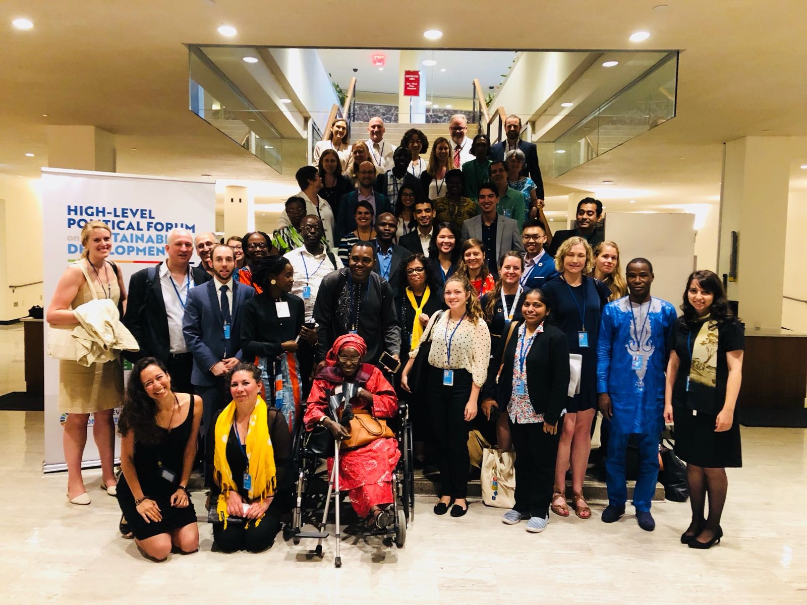 """Side event: """"An NGO Toolbox to Enhance Implementation of the 2030 Agenda: Towards Sustainable and Resilient Communities"""" (Photo of the NGO Major Group)"""
