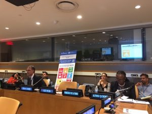 "Side event: ""Practical Tools to Localize and Implement the SDG11 and the New Urban Agenda in Cities in the Developing World"""