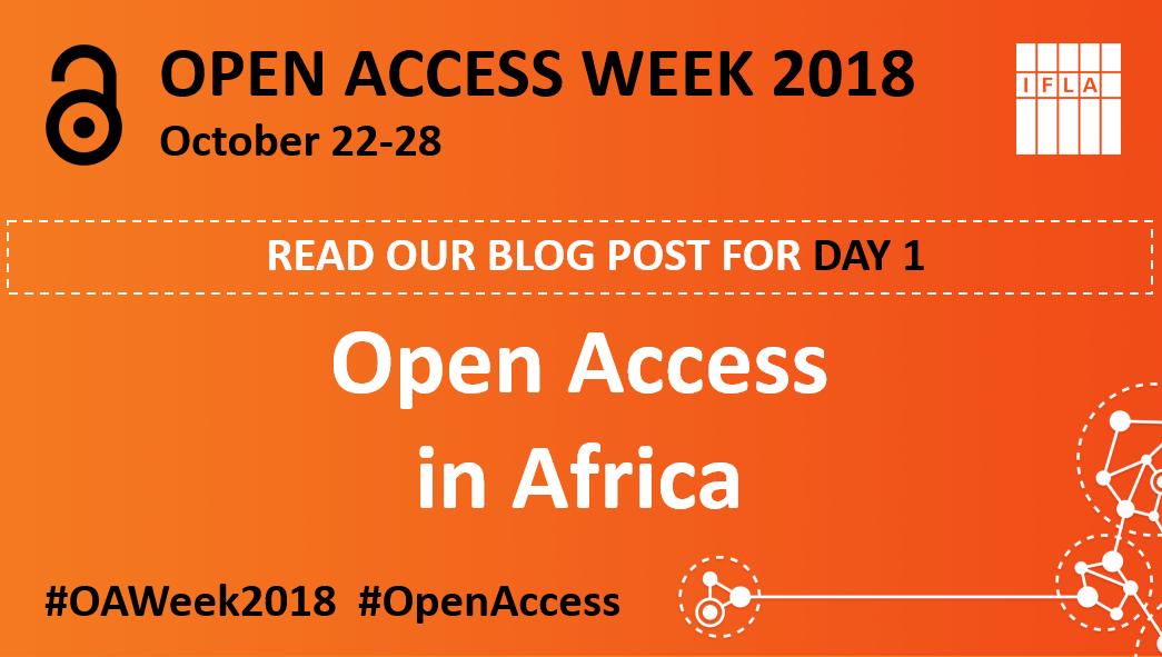 Open Access Week DAY 1