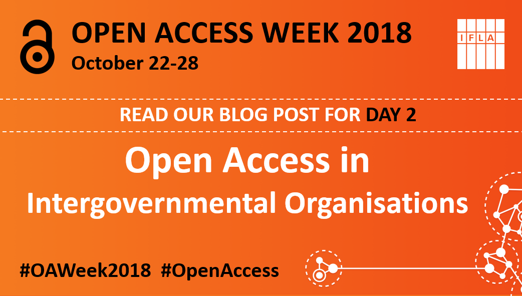 Open Access in Intergovernmental Organisations