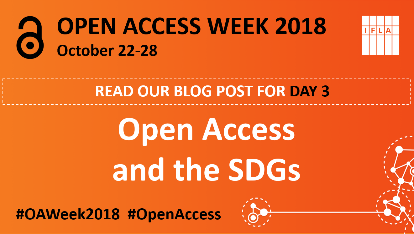 Open Access and the SDGs