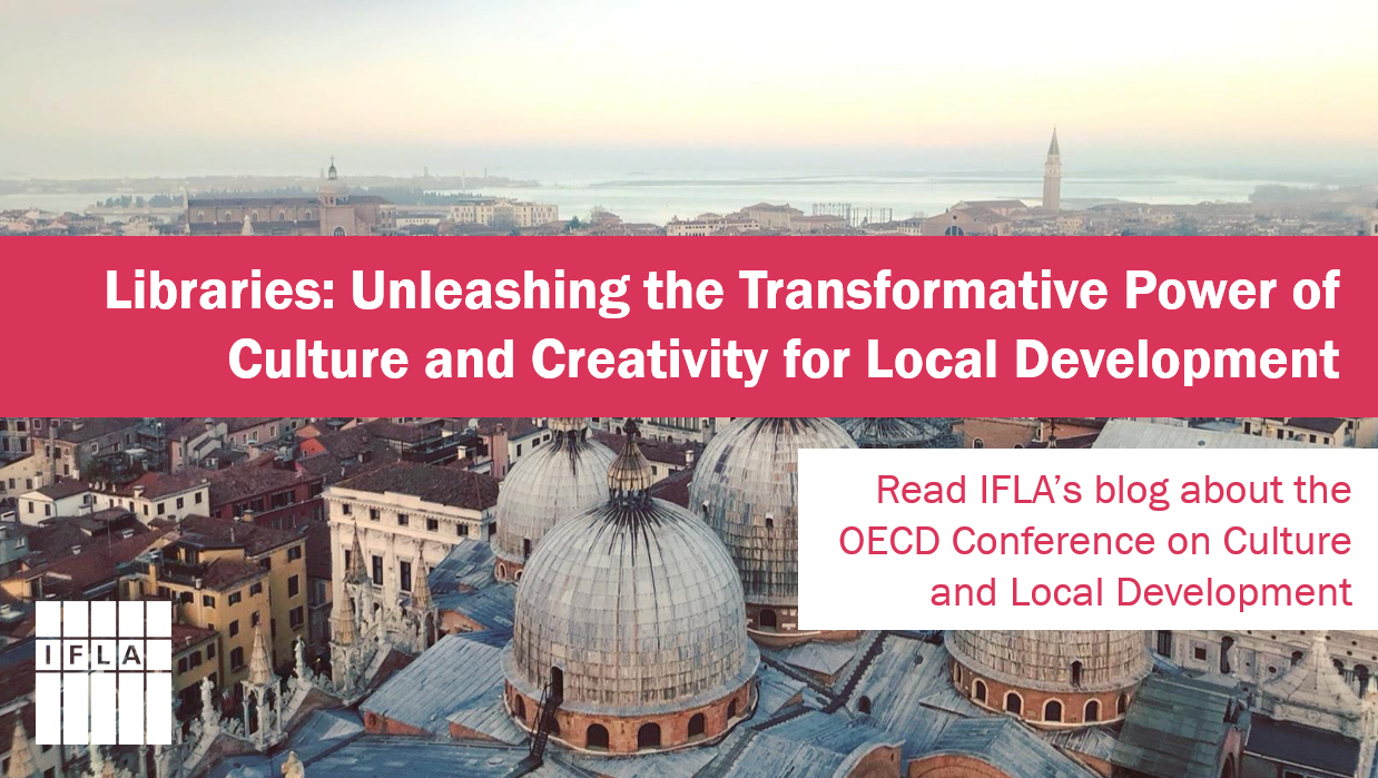 Libraries: Unleashing the Transformative Power of Culture and Creativity for Local Development