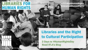 Image for 2 Days to Human Rights Day Blog - the right to cultural participation