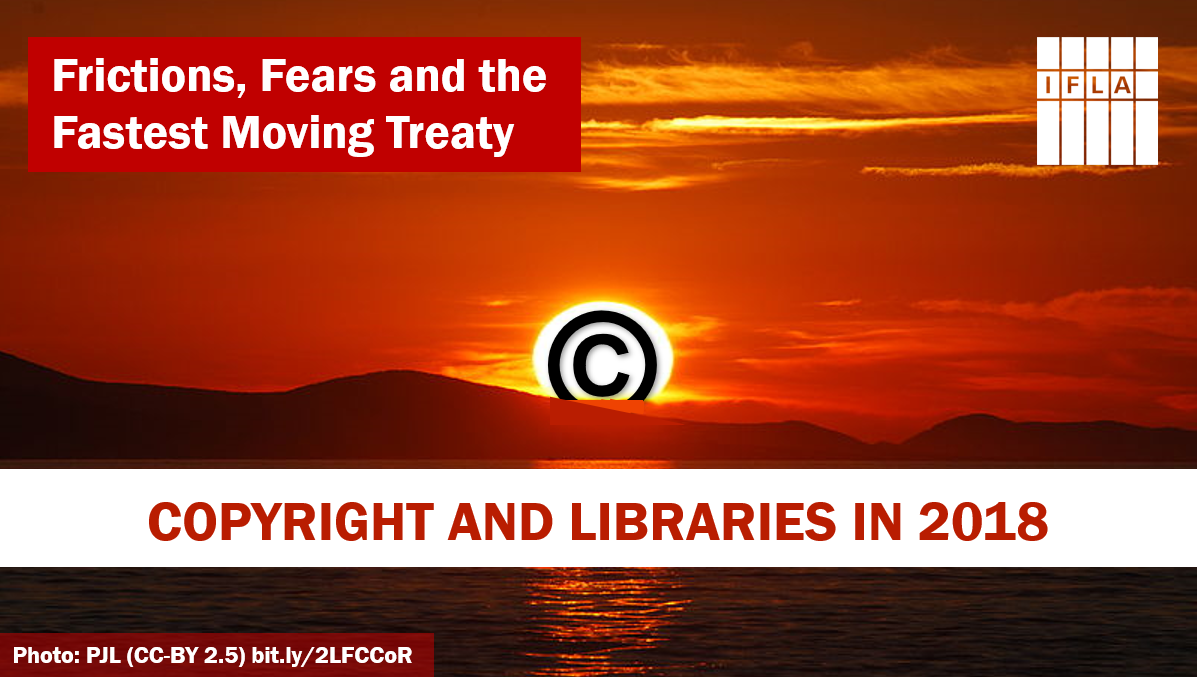 Copyright and libraries in 2018