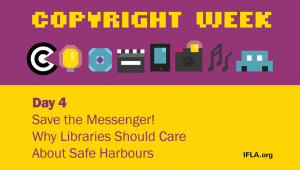 Graphic for Day 4 of Copyright Week 2019