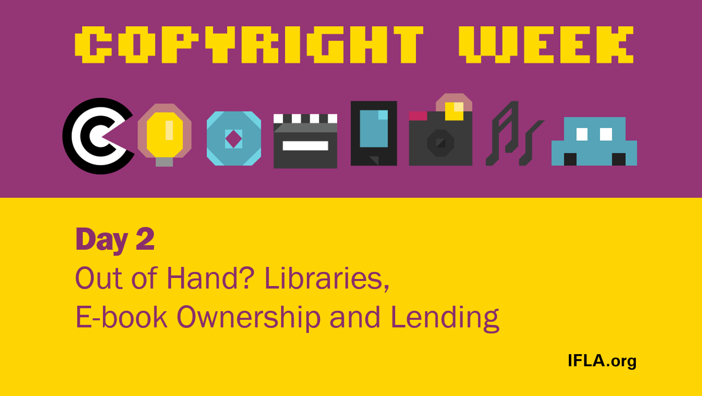 Libraries, eBook ownership and Lending