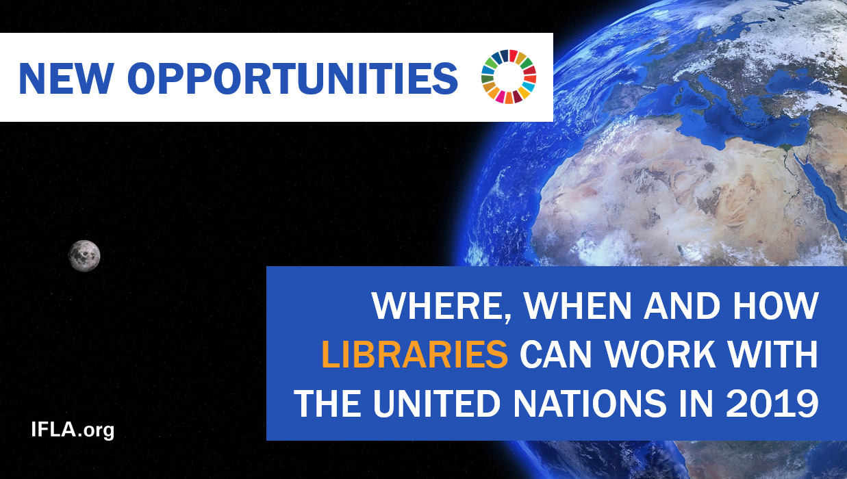 Libraries and the United Nations in 2019