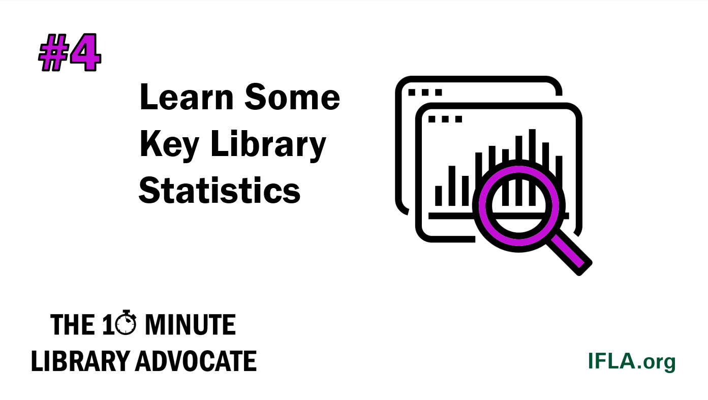 The 10-Minute Library Advocate: #4 Learn Some Key Library Statistics