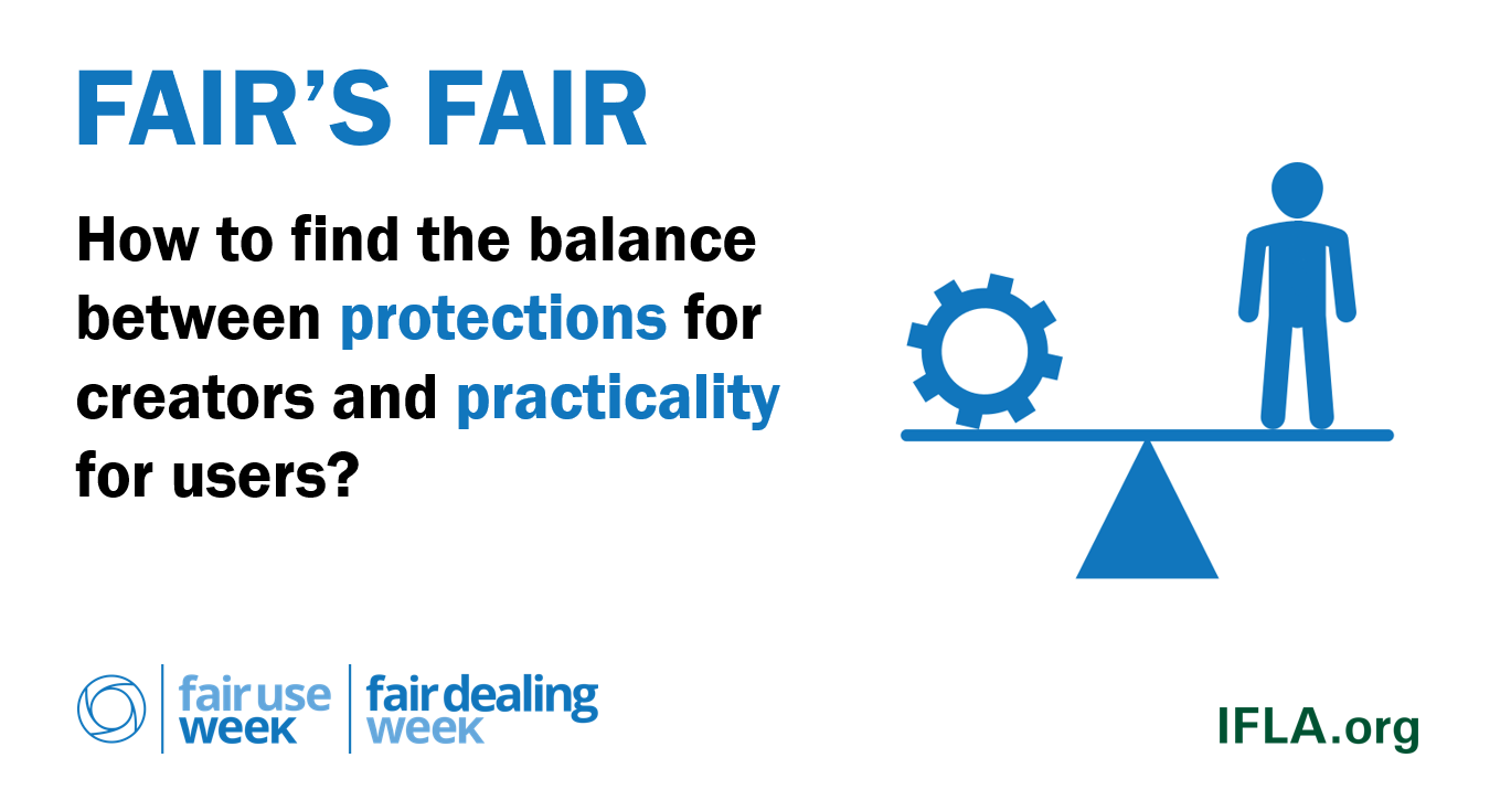 Fair's Fair: How to find the balance between protections for creators and practicality for users?
