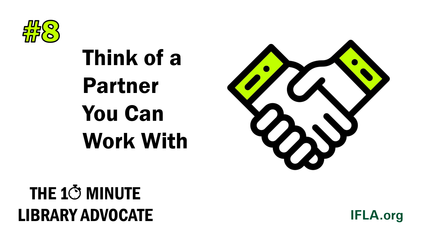 Think of a Partner You Can Work With