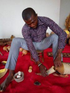 Librarian protecting Igbo heritage, Nigeria