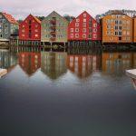 Colourful buildings in Bakklandet