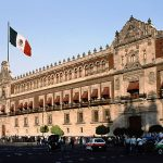 National Palace in Mexico Cit