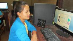 Binita Saru is a former library ICT trainee in Nepal