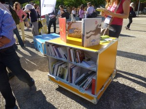 The ideas box launched at IFLA in Lyon. A possible solution for conflict situations.