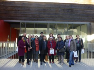 Members of IFLA's Public Libraries Section at Esparreguera Library