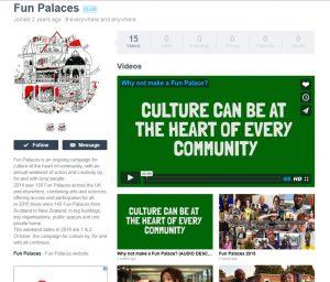 The Fun Palace page on vimeo